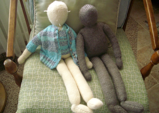18 Inch Knitted Dolls