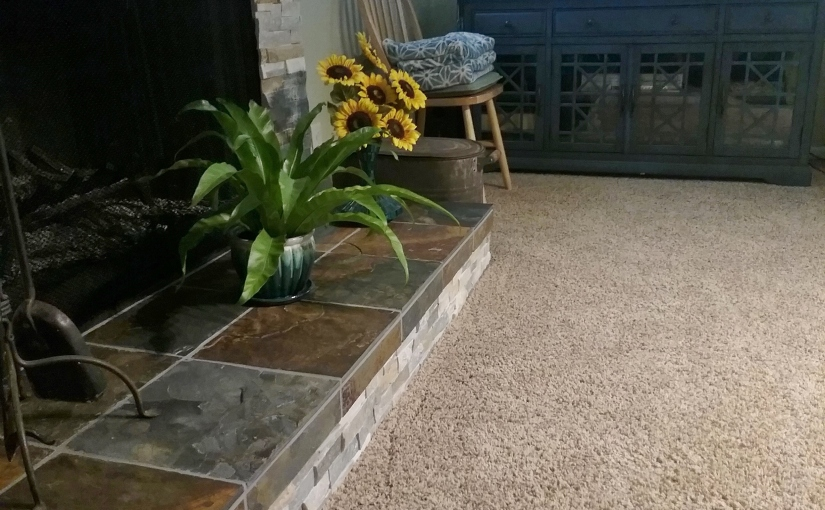 DIY Fireplace RenovationReveal!