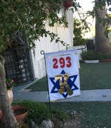 2 sided Custom yard Flag