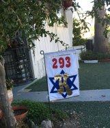 2 sided Custom yard Flag